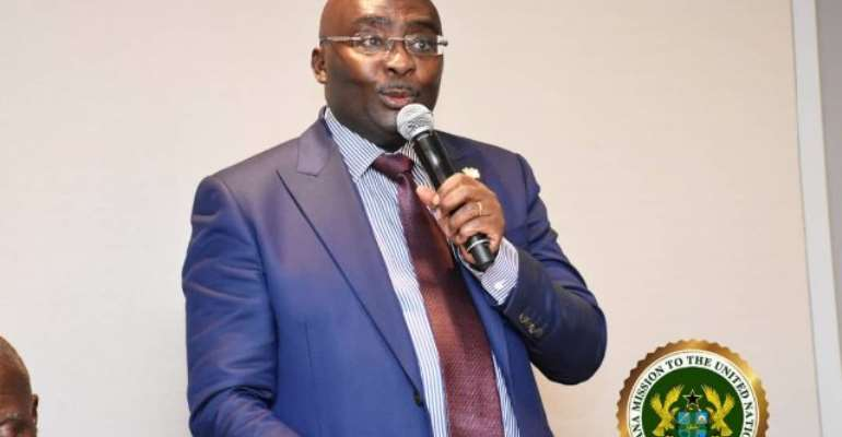 Vice President Mahaudu Bawumia said Ghana's economic success in recent times has increased its international sovereign rating.