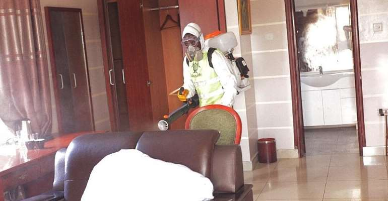 COVID-19: LCB Partners GHS To Disinfect Hotels Used As Quarantine Centers