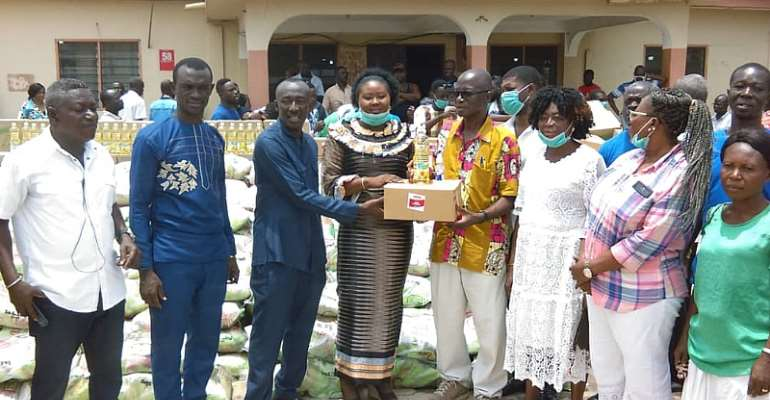 Covid-19: Kwabre East MP Donates To District To Fight Spread