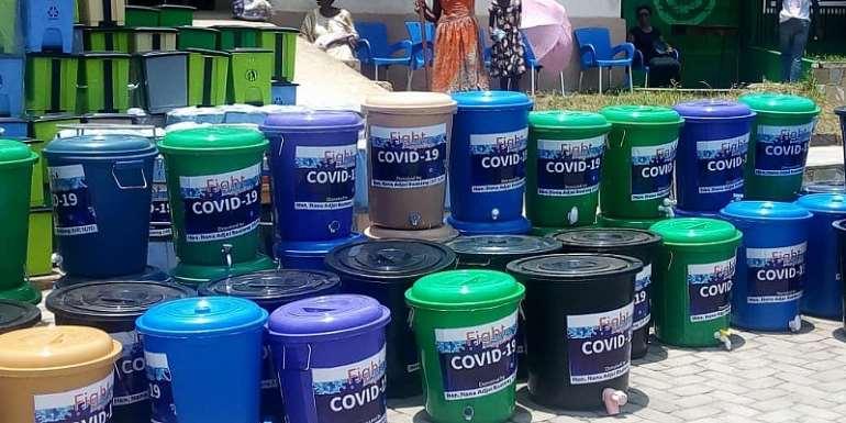 New Juaben North MP Donates Towards Coronavirus Prevention
