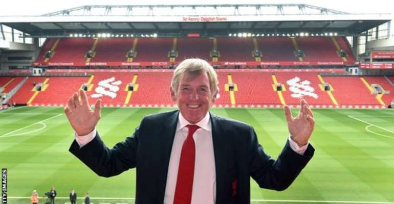 Liverpool renamed Anfield's Centenary Stand in honour of Kenny Dalglish in 2017