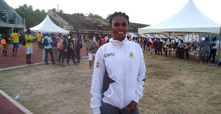 Kate Agyeman's Olympic dream still on