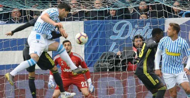 Juventus Title Celebrations Put On Ice After Shock Defeat To SPAL
