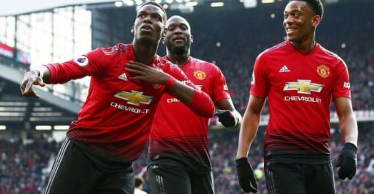 Two Pogba Penalties Give Man Utd Laboured Win Over West Ham