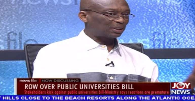 Row Over Public University Bill Premature – Baako