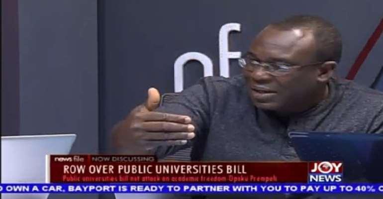 Public Universities Bill Is Needless, Unnecessary And Retrogressing — Apaak