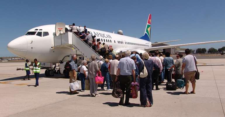 COVID-19: South Africans In Ghana Repatriated