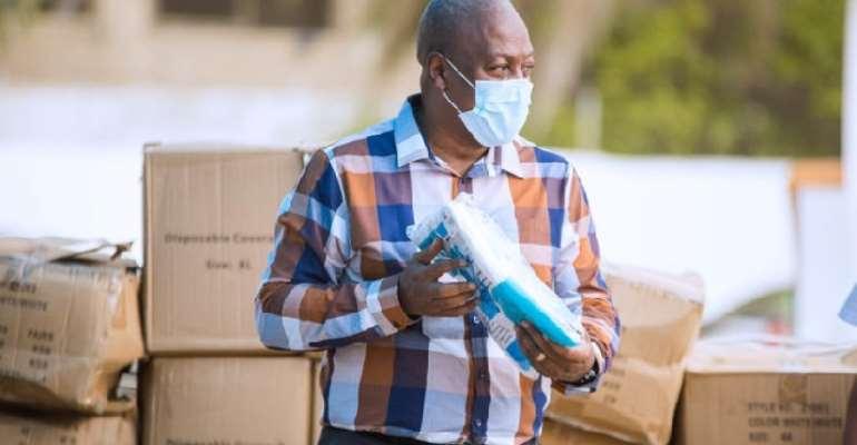 Together We Will Win the Fight Against Coronavirus – Ex-President Mahama