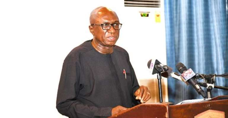 Interior Minister, Ambrose Dery And MP For Nandom Constituency