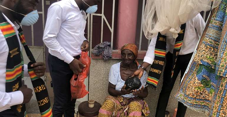 KNUST Student Embarks On COVID-19 Support Project By Sharing Food