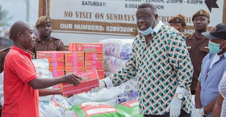Christian Redemption International Ministry Donates To Koforidua Prisons