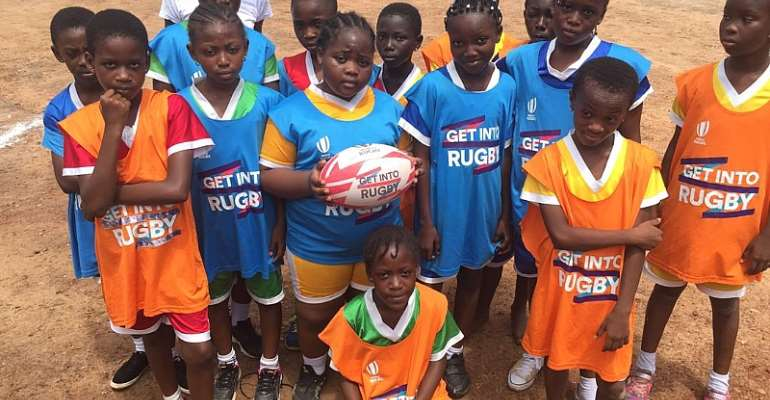 Giving back: U.K based Ghanaian female rugby player supports Ghana rugby at grassroots level