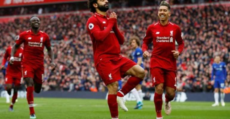 Salah Screamer Downs Chelsea And Keeps Liverpool Ahead Of City