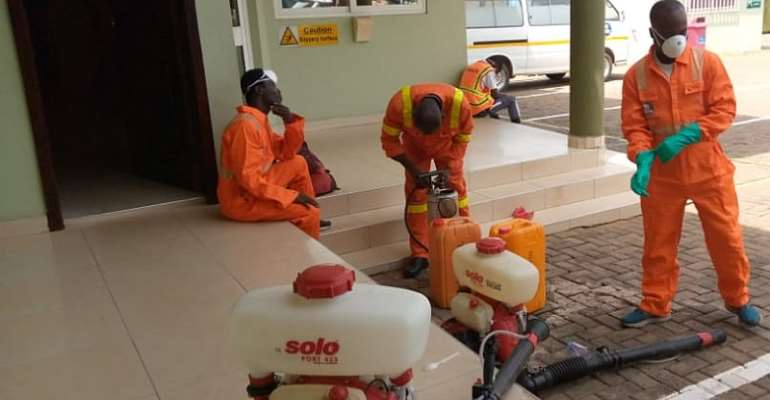 Zoomlion Has Extended Fumigation Service To Corporate Ghana