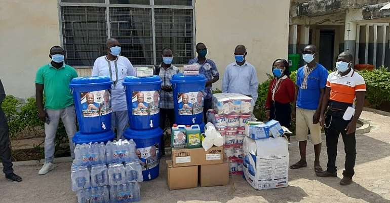 COVID-19: NDC PC For Navrongo Central Donates Safety Equipment
