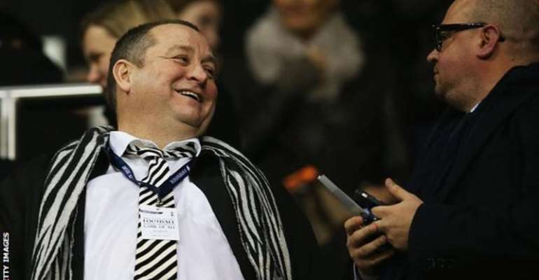 Mike Ashley took charge of the club in 2007