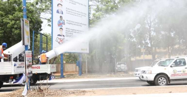 Zoomlion And GES Fumigate And Disinfect All  Senior High Schools Nationwide