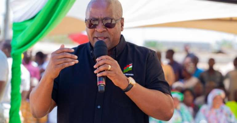 Covid-19: Mahama Criticises Quality Of Gov't's Free Food, Mode Of Sharing