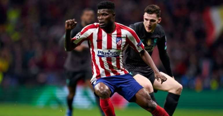 Arsenal Ready To Sign Thomas Partey For €50m From Atletico Madrid