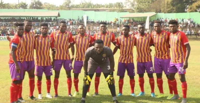 Hearts Of Oak are one of Africa's top sides