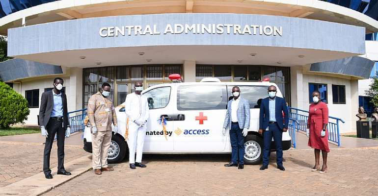Access Bank Joins COVID-19 Fight With Ambulance Donation To UPSA