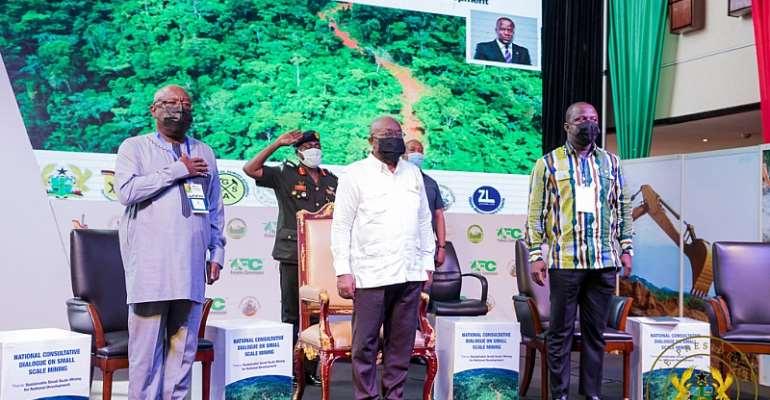 Akufo-Addo calls for political consensus in galamsey fight