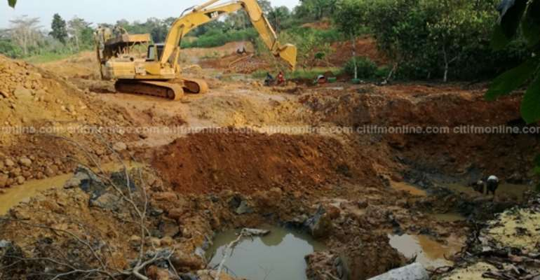 Ghanaians to suffer irreparable consequences of the reckless Galamsey activities in Ghana if……
