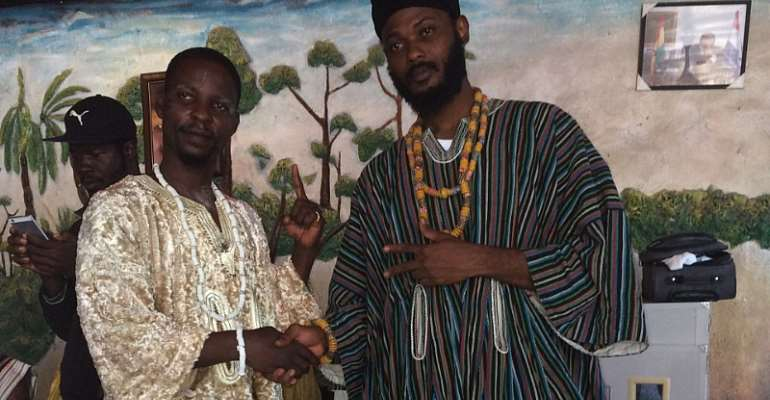 IWAN Enstooled as Mpese(Rasta) Youth Chief