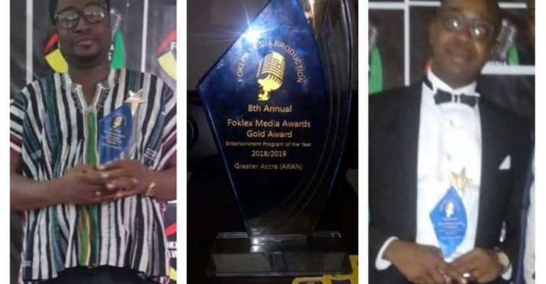 Hot 93.9FM,Fox FM Win Awards At 2019 Foklex Media Awards