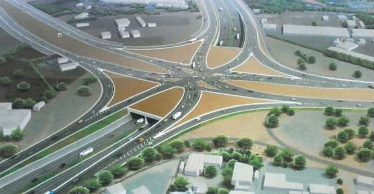 The Accra-Tema Motorway, also known as the Kwame Nkruman Motorway, is a 19-kilometre stretch that links Accra and Tema, a city that sits on the Atlantic Coast of Ghana.