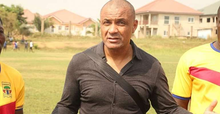 Kim Grant Implores Hearts of Oak To Exercise Patient