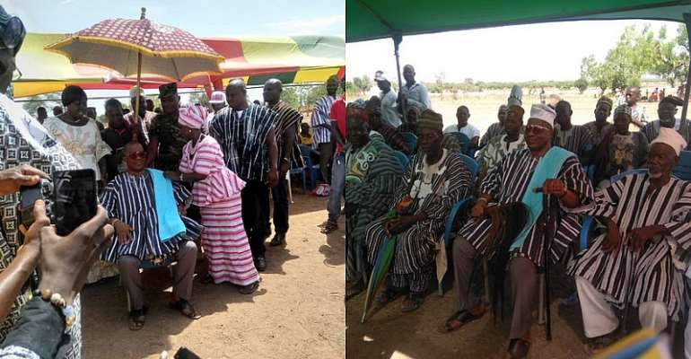 NLA boss enskinned as Pieri Naa of  Sankana Traditional Area