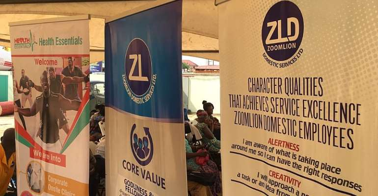 Zoom Domestic Holds Herpathitis B Screening For About 300 Staff