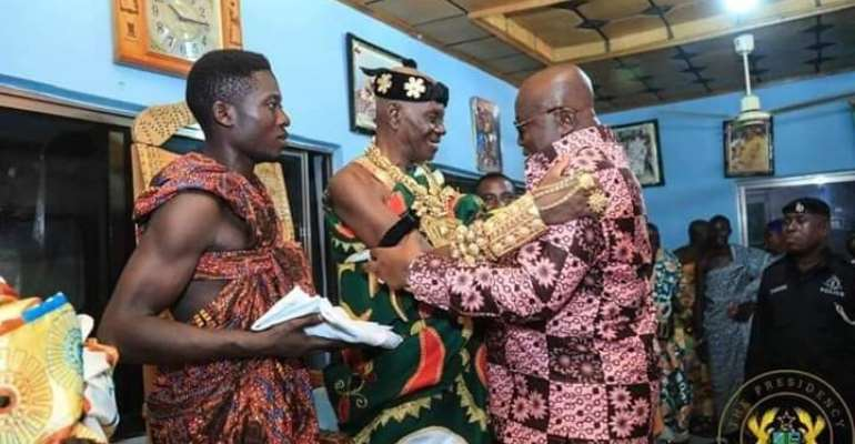 Busy Weekend For The President! As Akufo-Addo Commissions Projects