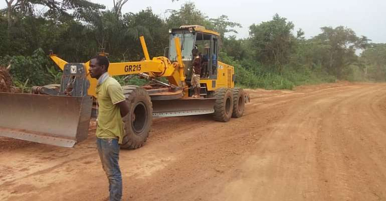 7km Non-Motorable Road Sees A Facelift From Asokore MP