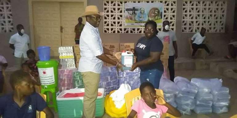 Suhum MP Donates To Orphanages Amid COVID-19