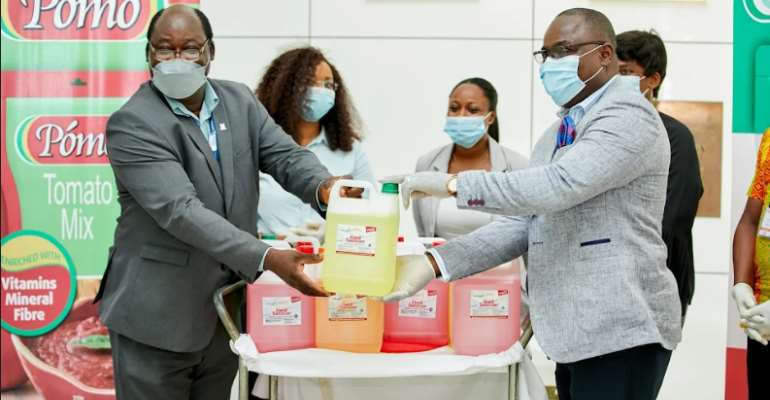 Government Gets 350k Support From GB Foods To Fight Coronavirus