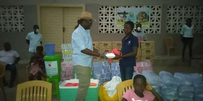 Suhum MP Supports Orphanages in His Constituency