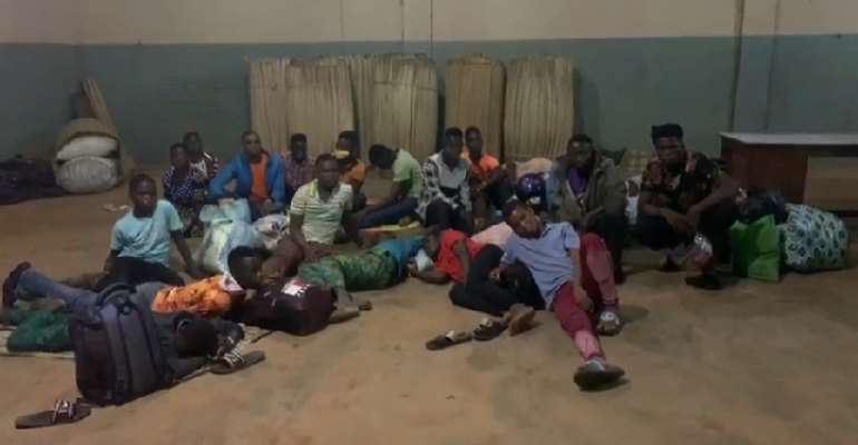 22 Arrested For Attempting To Cross From Ghana To Togo