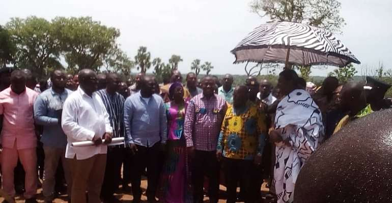 Akufo-Addo Ends Bono East Tour With A Promise