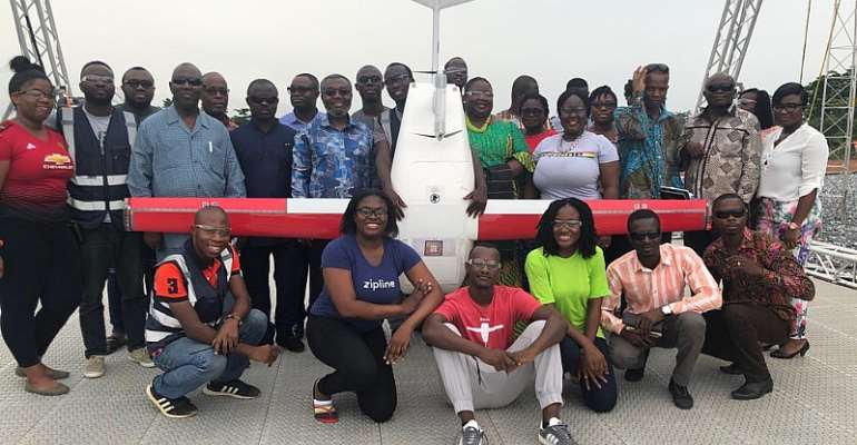 Ministry Of Health, Zipline Medical Drone 'Fly-To-Save-A-Life' To Launch