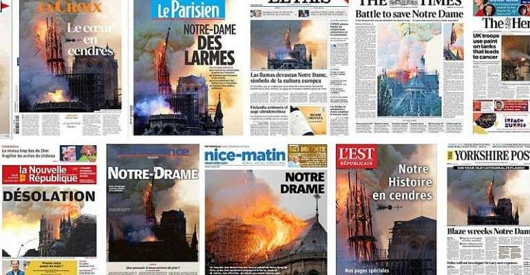 Les Echoes news paper