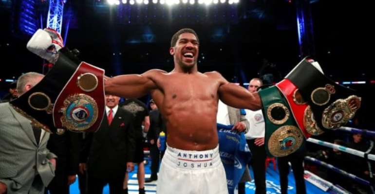 Joshua's US Debut In Doubt Because Of Opponent's Failed Test