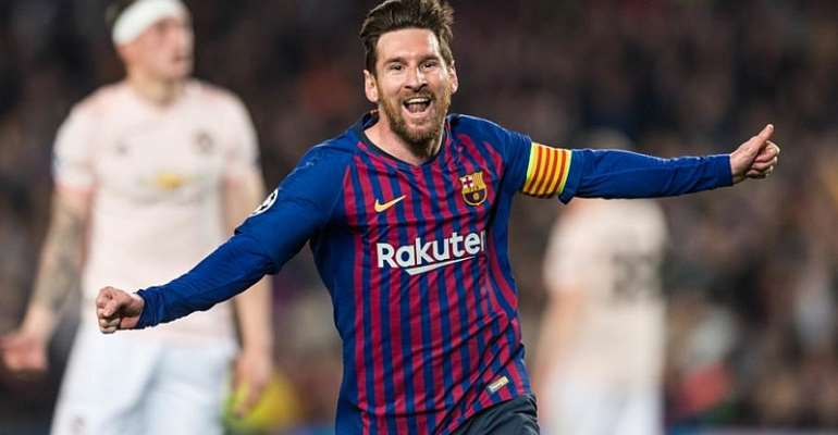 Messi Magic And De Gea Blunder Ease Barcelona Past Man United