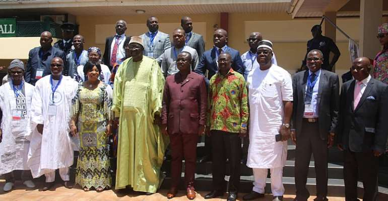 Participants at the 4th Legislature Localised Meeting On PPP held in Accra