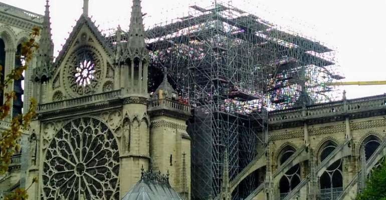 What is Wrong with Some Ghanaian or African Journalists on the Notre Dame de Paris Cathedral?