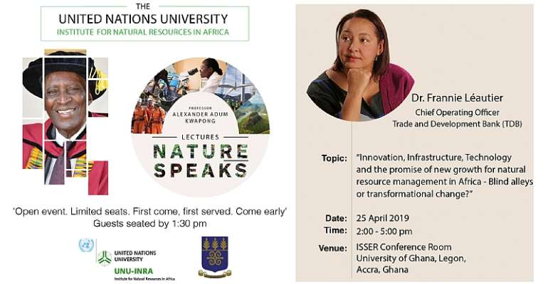 UNU-INRA Launches Lecture Series