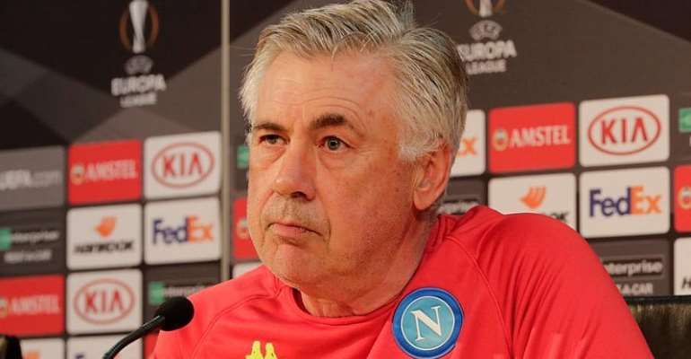 Ancelotti Demands Courage And Heart From Napoli Ahead Of Arsenal Clash