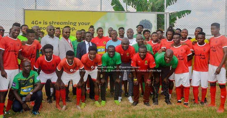 Maxwell Konadu And Kotoko Players Open To Pay Cut Idea To Help COVID-19 Fight