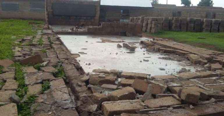 Techiman North: Hundreds Homeless After Rainstorm At Aworowa